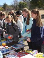 8th Grade Art Supplies Donation to Taos Day School